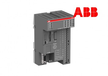 PLC ABB PM554-RP, 128kB, 8DI/6DO-R, 24VDC, 1xRS485, 2xOption Slot