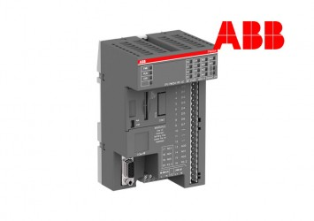 PLC ABB PM554-RP-AC, 128kB, 8DI/6DO-R, 115-230VAC, 1xRS485, 2xOption Slot