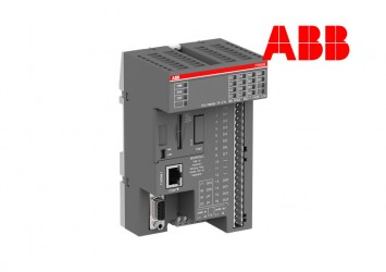 PLC ABB PM556-TP-ETH, 512kB, 8DI/6DO-T, ETHERNET, 24VDC, 1xRS485, 2xOption Slot